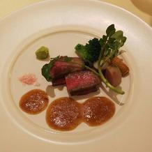 フルコース8:肉料理