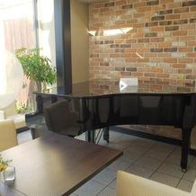 控え室 ピアノ