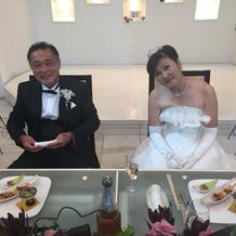 両親へのサプライズ結婚式プレゼント写真1