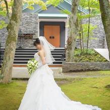 花嫁ドレス写真