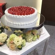 1万円のショートケーキのホールです。