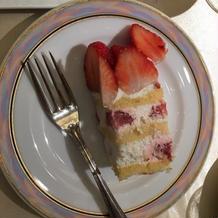 ウエディングケーキ。