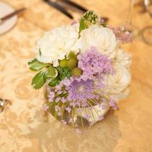 テーブル装花1