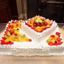 思い出のウェディングケーキ