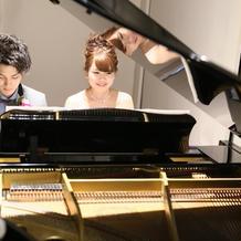 ピアノの連弾