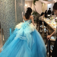 ゲストから好評のドレスでした!