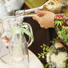 日本酒サービス
