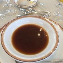 新郎一押しのスープ