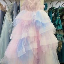 ララシャンス衣装室オリジナルドレス。