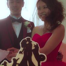 大満足なウエディングケーキでした!