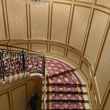 曲線の階段です
