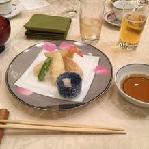 揚げたてサクサクの天ぷら