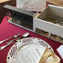 披露宴会場模型とテーブルイメージ