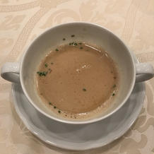 茸のスープ