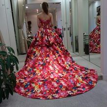 蜷川実花ドレス。