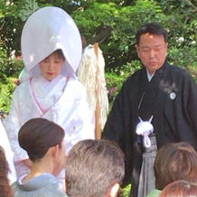羽織袴と白無垢