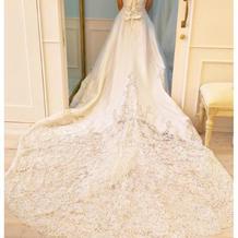 プラス料金のドレス