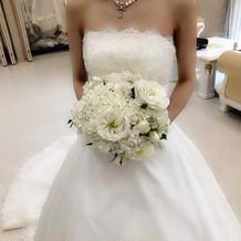 白ドレス決まりました♡