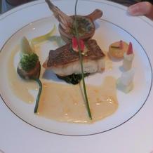ローズプリンセス料理 魚
