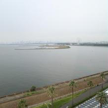披露宴会場から海側の眺め