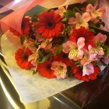両親へ花束