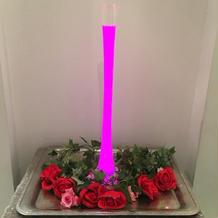 光るグラスタワー