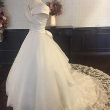 飾ってあったドレス