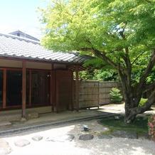 和庭園。 洋風ガーデンも素敵です。