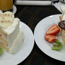 カフェパーティーのケーキ☆