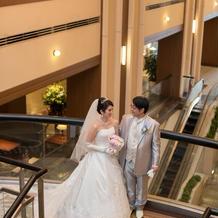 ホテル階段にてスナップ撮影