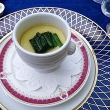 スープ*ほうれん草のロワイヤル