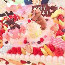 こだわりの愛犬ケーキ♪