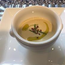 濃厚なスープ
