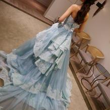 カラードレス 水色