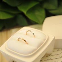 誓いの指輪。