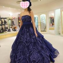 ドレス試着