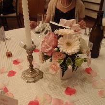テーブル 装飾