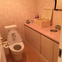 ブライズルーム内のトイレ