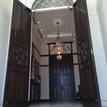 チャペルのドア