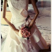 かわいいウエディングドレスでした。