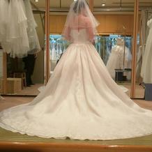 選ばなかったドレスの写真です。