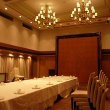 11階の披露宴会場