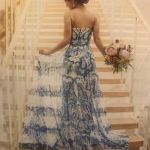 お気に入りカラードレス