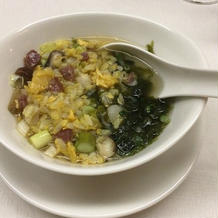 スープかけチャーハン