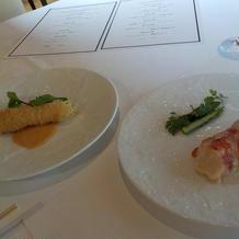 試食での食べ比べ・前菜2