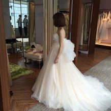 プラン外のドレス(プラス2万)