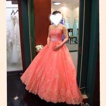 可愛い系カラードレス