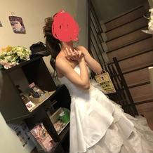 自前のドレス