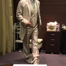 素敵な衣装で、夫が格好良かった。