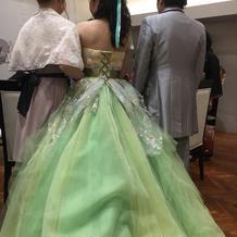 大好きなティンカーベルのようなドレス